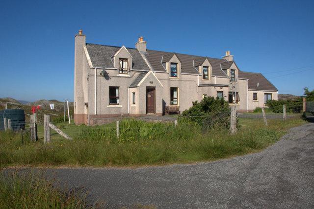 Houses at Scadabay (Scadabhagh)