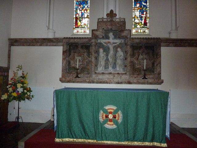 Altar at St Mary Ewshot