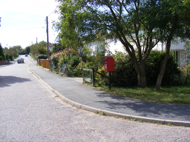 Orchard End & Orchard End Postbox