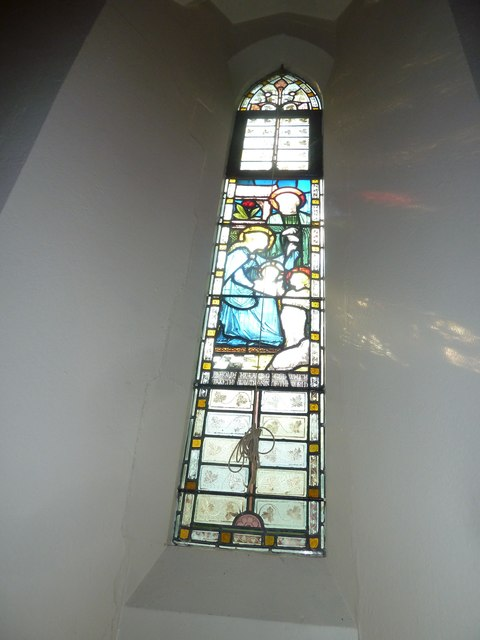 Single lancet window at St Mary Ewshot(b)