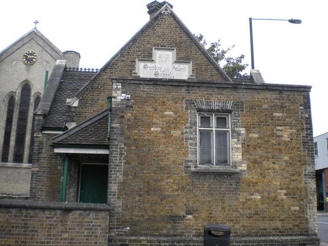 Holy Trinity School and Church, Philip Lane N15