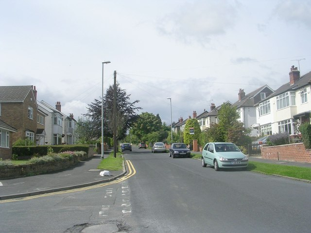 St Margaret's Road - viewed from St Margaret's Avenue