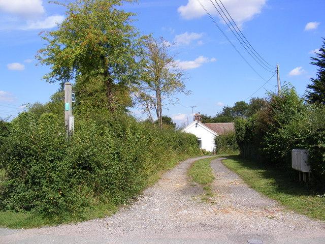 Bridleway to Grunsdisburgh Church