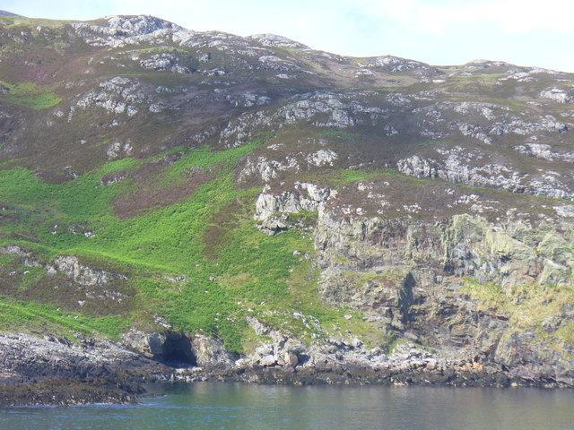 Coastline Below Beinn Ruigh Choinnich