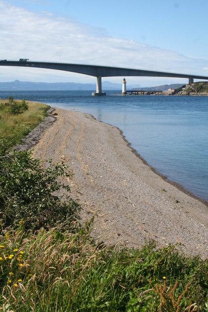 Beach by the Bridge