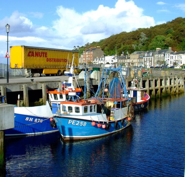 Fishing boats at Rothesay