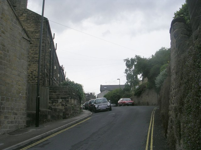 Bachelor Lane - viewed from Low Lane
