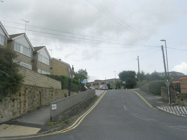 Lister Hill - viewed from Low Lane