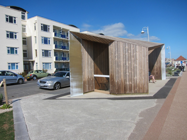 New shelter along West Parade