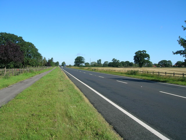 A19 towards York