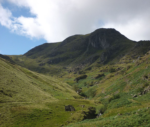 The upper reaches of Dovedale