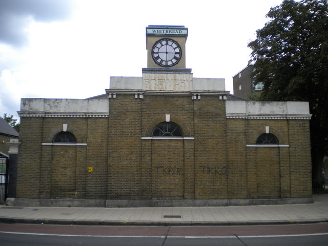 Whitbread Brewery, High Road N17