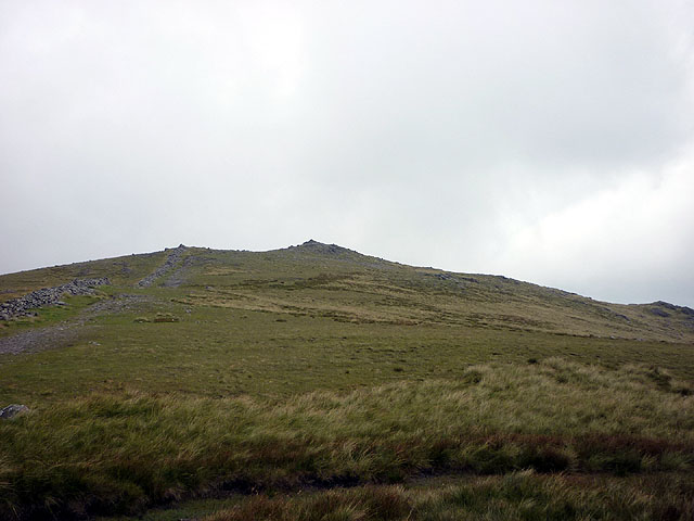 Dove Crag summit (792m) from the south