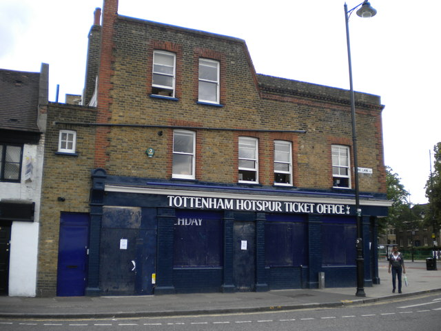 Tottenham Hotspur Ticket Office, Park Lane N17