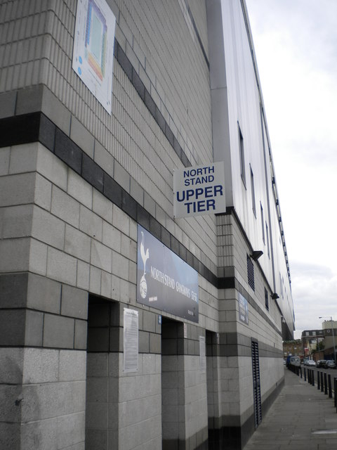 North Stand, White Hart Lane Stadium, Paxton Road N17