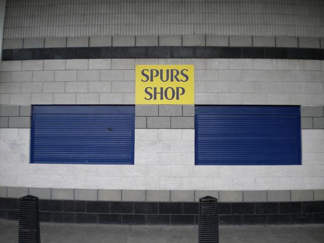 Spurs Shop, Paxton Road N17