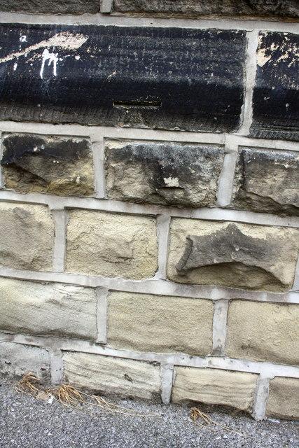 Benchmark on Holy Rood Church