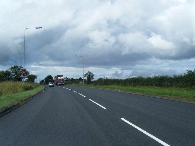 A5117  near Hapsford
