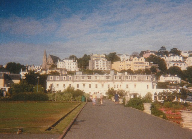 Pathway in Torre Abbey Gardens Torquay