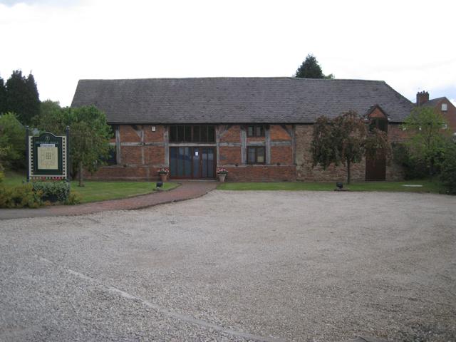 Business premises at Hurley Hall Farm