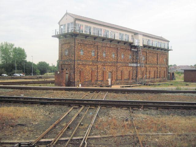 Severn Bridge signal box Shrewsbury