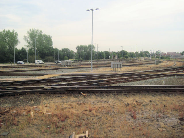 Joining the Birmingham line