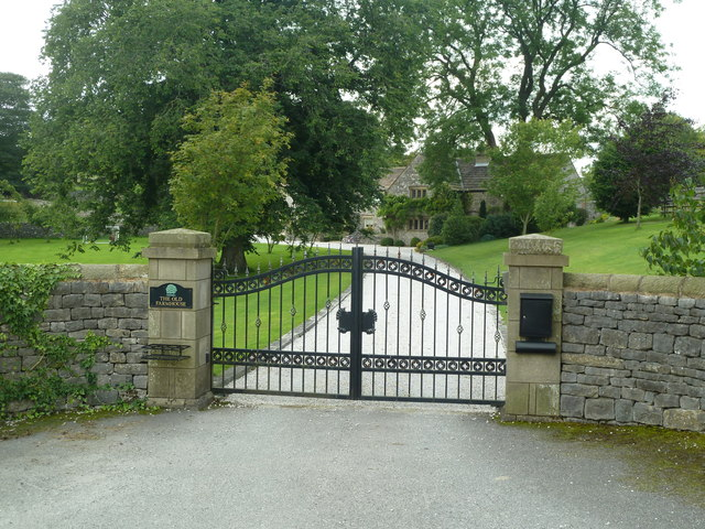 Gates and drive of the Old Farm House