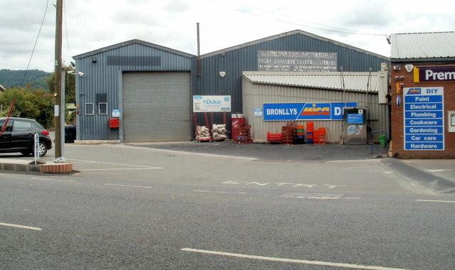 Bronllys Mica hardware store
