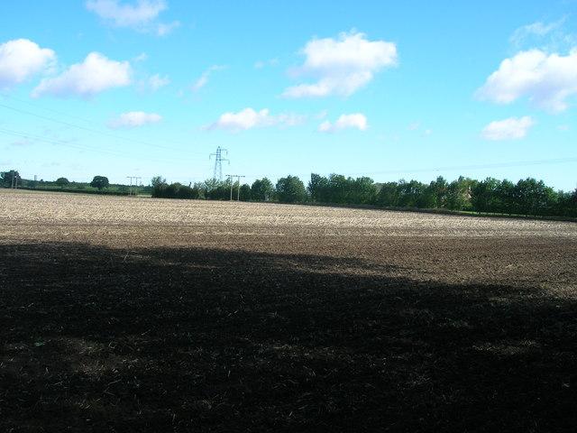 Farmland near Ridge Farm