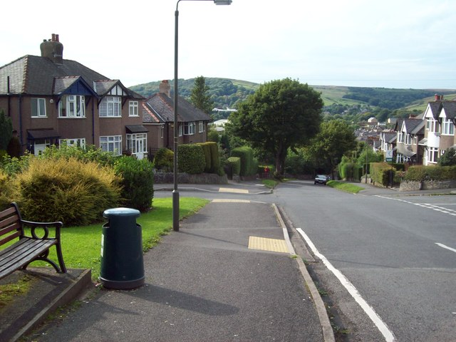 Victoria Park Road in Buxton