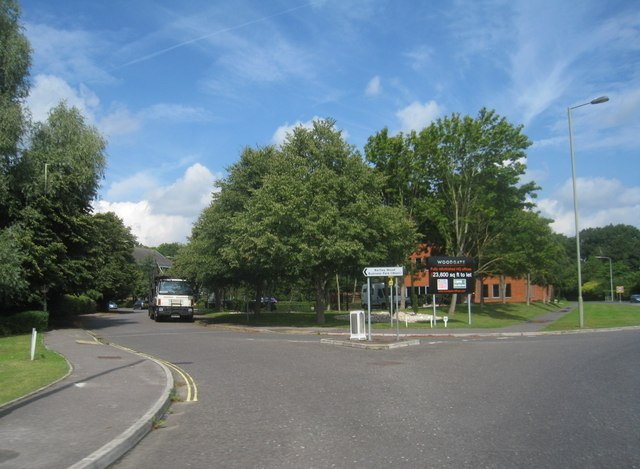 Access to Bartley Wood Business Park (West)