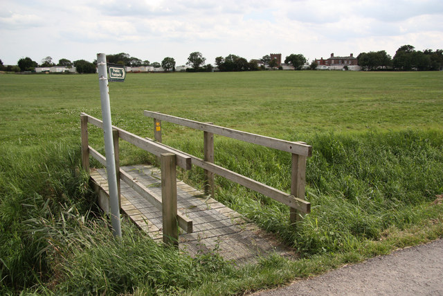 North Road footbridge
