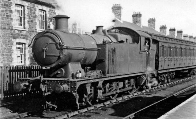 Local train at Treherbert