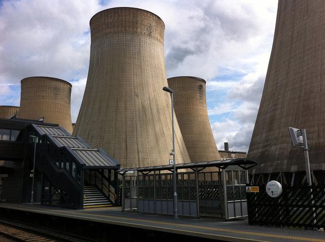 Platform 4, East Midlands Parkway railway station
