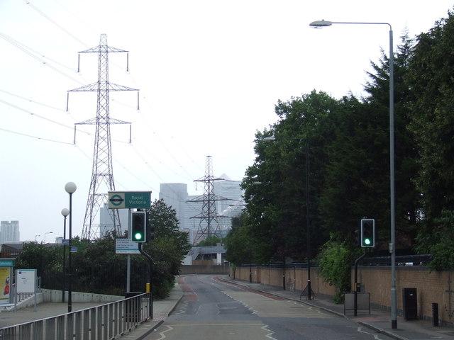 victoria dock road: