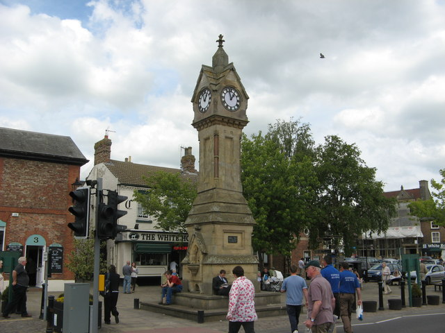 Market Place Clock Tower