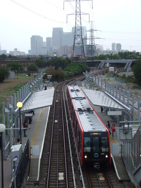 Royal Victoria DLR station