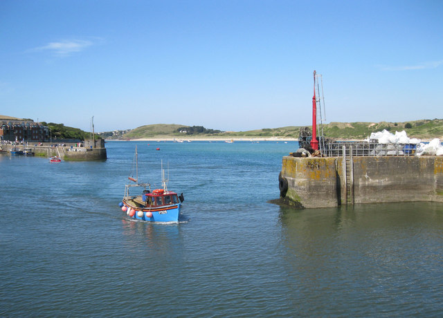 Padstow Harbour entrance