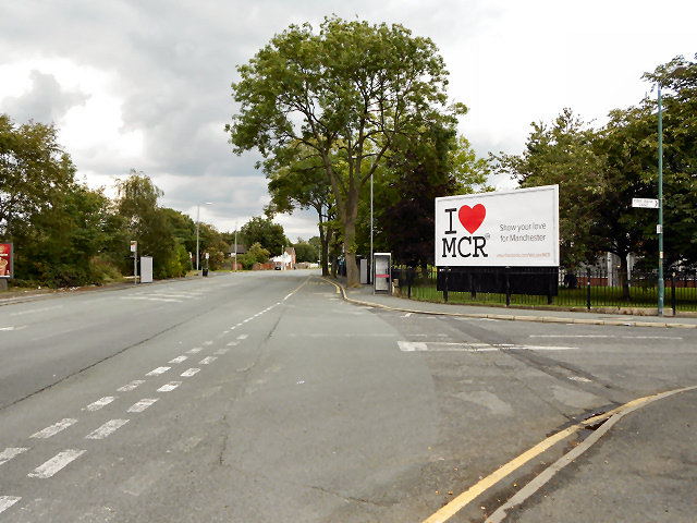 Kirkmanshulme Lane/Pink Bank Lane Junction