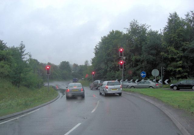 M3 junction 6 slip road