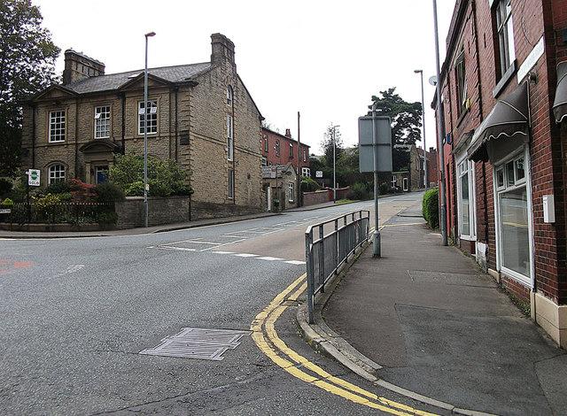 Rooley Moor Road, Rochdale end