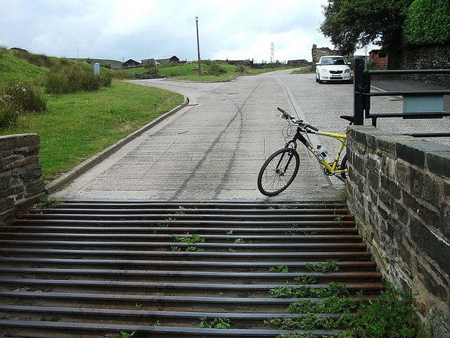 Cattle grid, Catley Lane Head