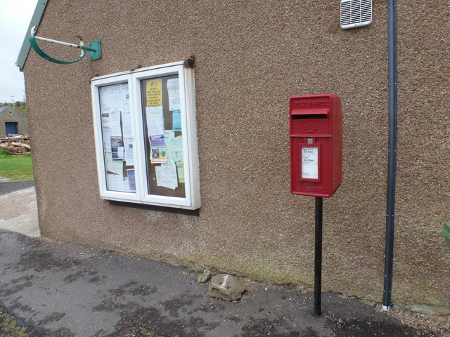 Melvich: postbox № KW14 45