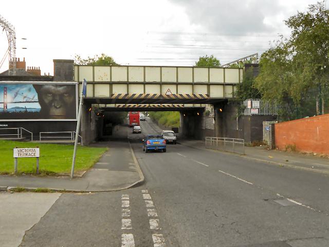 Railway Bridge, Kirkmanshulme Lane