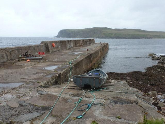 Portskerra: the pier