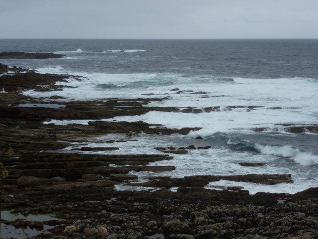 Portskerra: rocks below Sgeir Ruadh