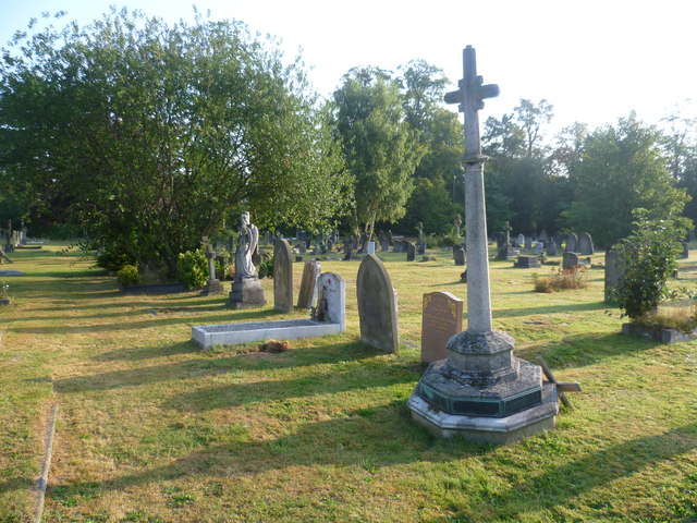 Early morning in London Road Cemetery