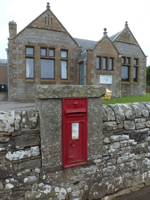 Reay: postbox № KW14 61