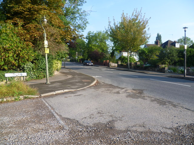 Corner of Downs Hill and Downs Bridge Road
