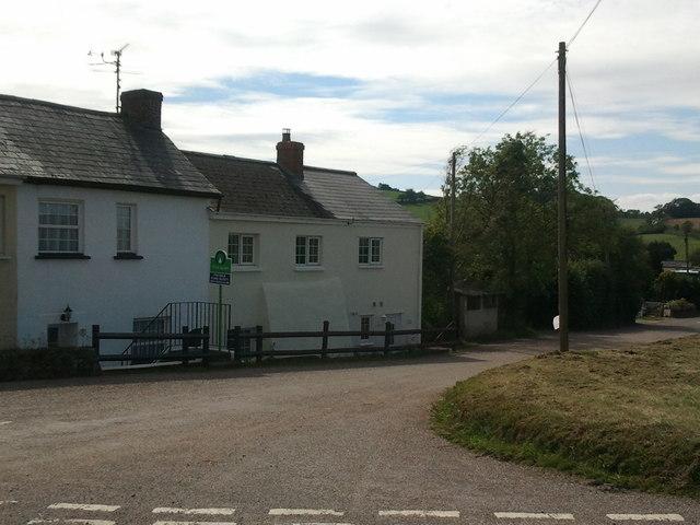 Houses at Cadbury Cross